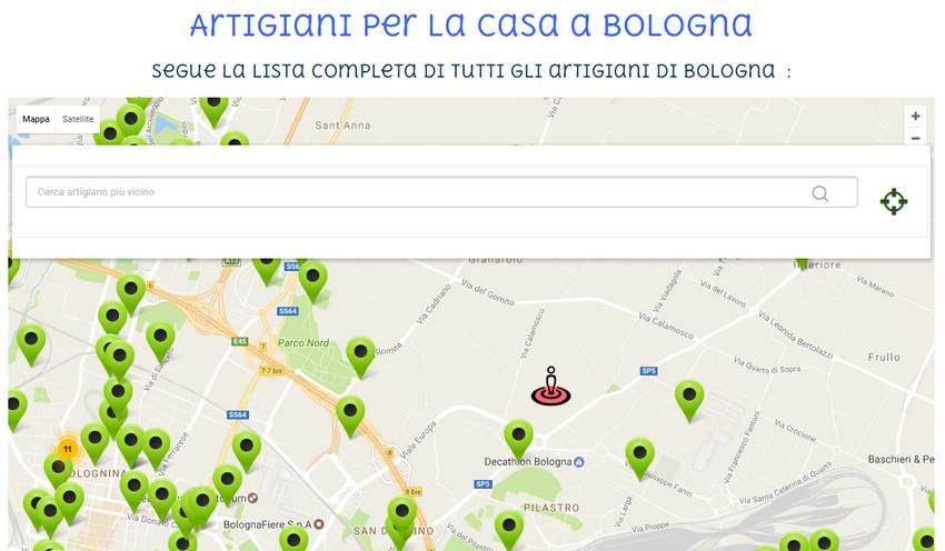 Creazione siti internet bologna e italia per essere ai - Siti per la casa ...