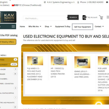 USED ELECTRONIC EQUIPMENT TO BUY AND SELL